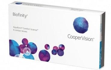 Biofinity ( Comfilcon A )  -  6er Box