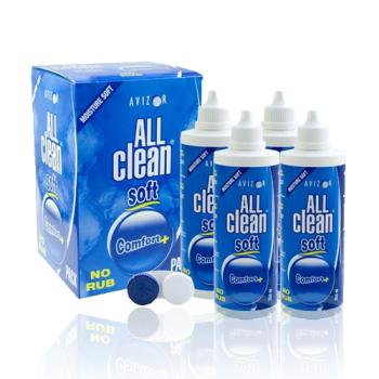 4 x All Clean soft (je 350ml) + 1 Behälter