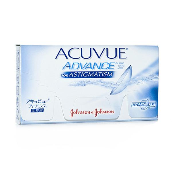Acuvue Advance for Astigmatism, 6er Box - Johnson&Johnson